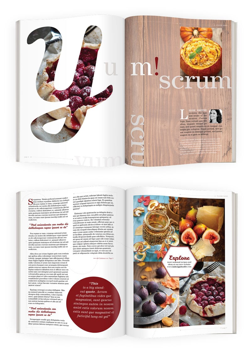 indesign tutorials for beginners magazine design