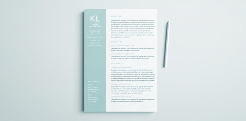 indesign tutorials for beginners resumes cv