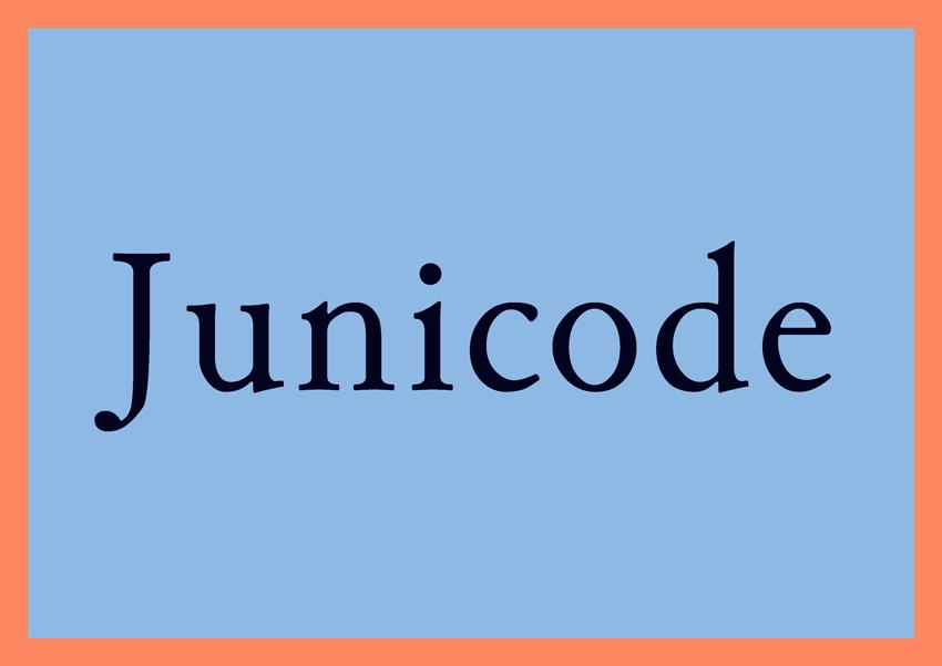 best free fonts for branding and logo design junicode