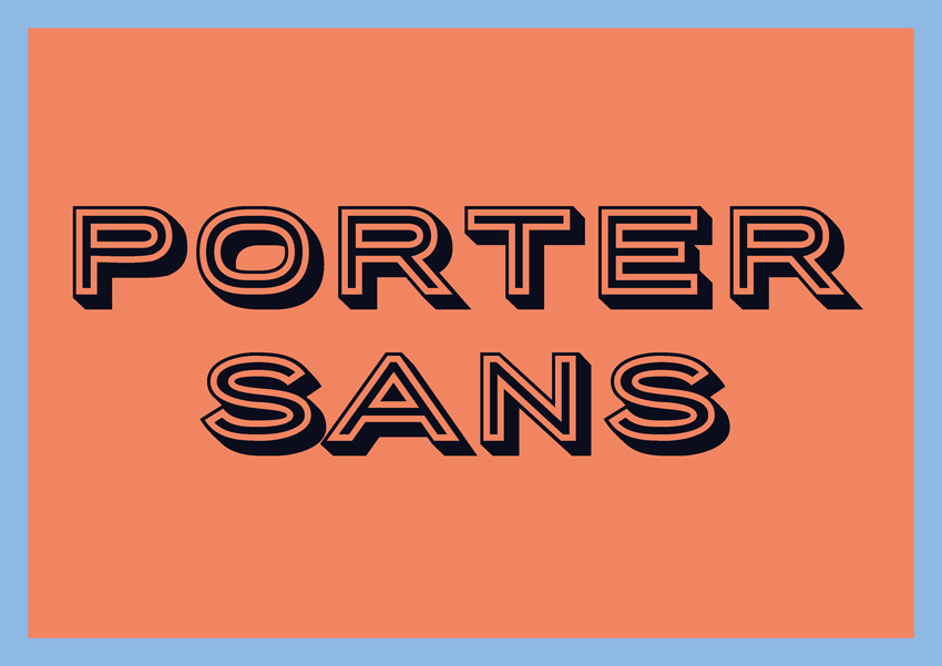 best free fonts for branding and logo design porter sans