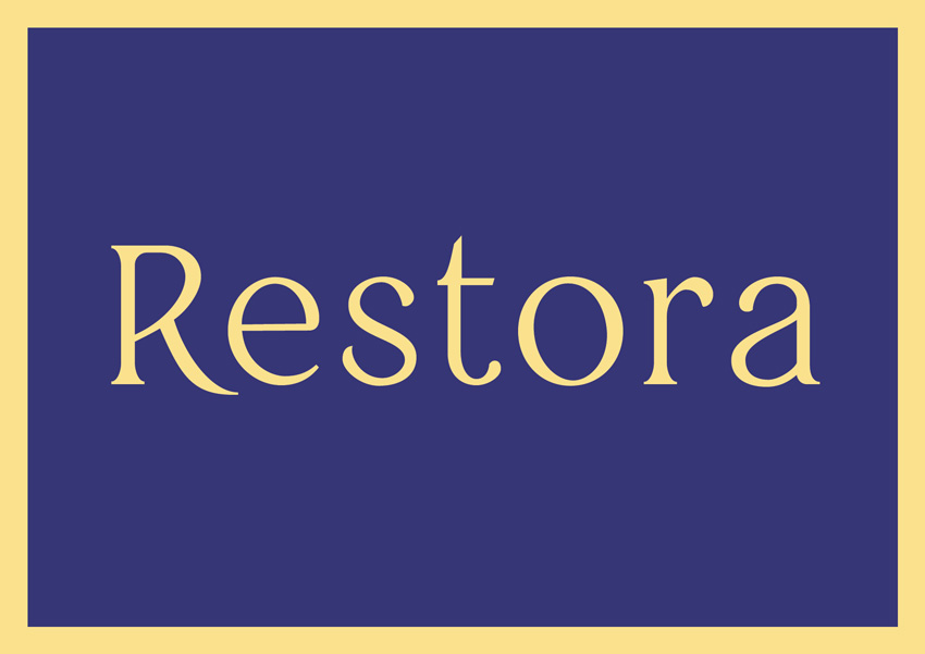 best free serif fonts traditional fonts restora
