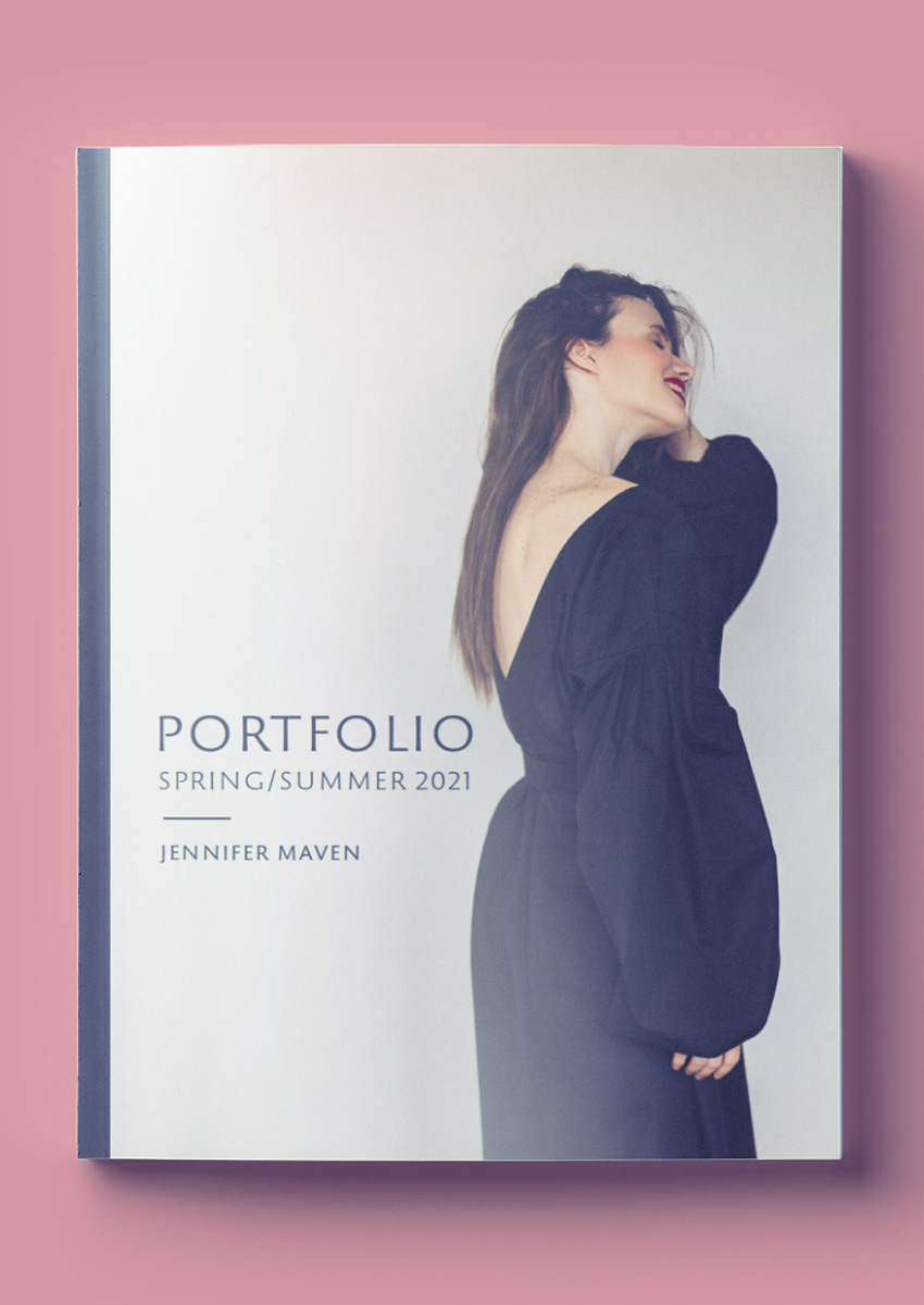 fashion portfolio fashion lookbook free indesign template