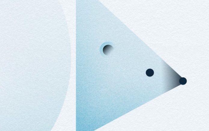 free christmas card template adobe indesign polar bear minimal graphic stylish christmas card