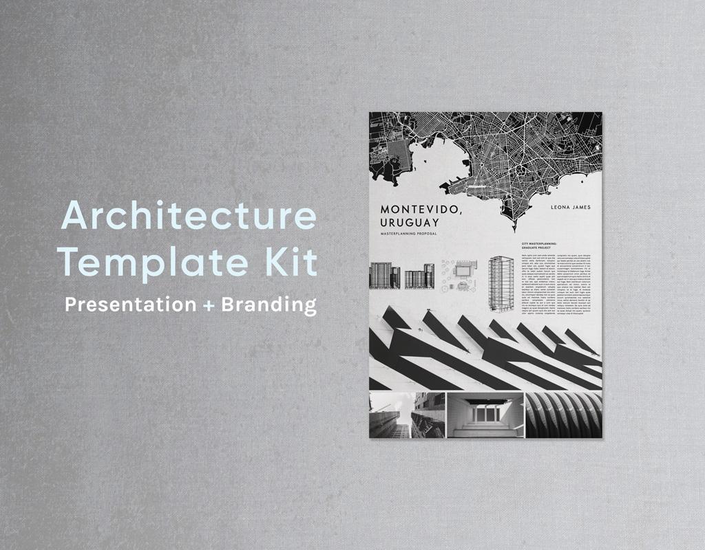 architecture indesign template kit architecture portfolio architecture presentation board architecture business card architect portfolio architect branding