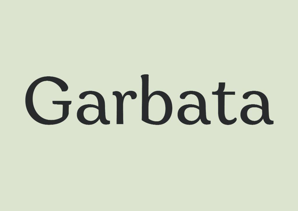 garbata best free fonts free serif fonts free sans serif fonts free typefaces free new 2021 fonts free fonts 2021