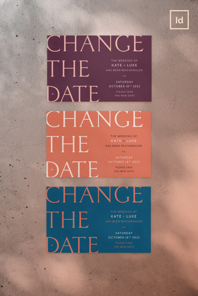 change the date wedding card template bohemian stylish wedding stationery templates wedding invite template set indesign wedding name cards rsvp cards table number menu template event wedding save the date card template