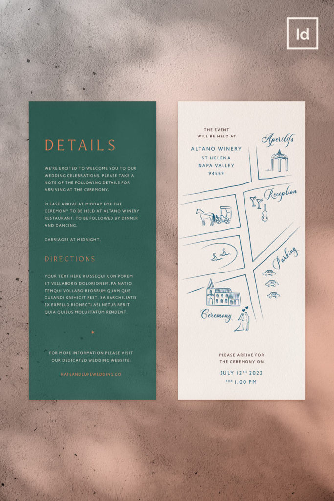 bohemian stylish wedding stationery templates wedding invite template set indesign wedding name cards rsvp cards table number menu template event wedding save the date card template